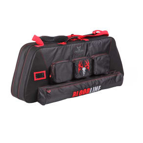 30-06 Outdoors .30-06 Bloodline Signature Series Bow Case, Red/Black