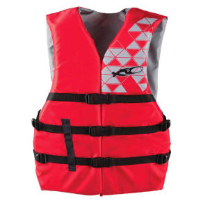 X2O Adult Life Vest - Red