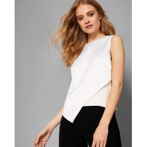 Asymmetric Front Panel Top