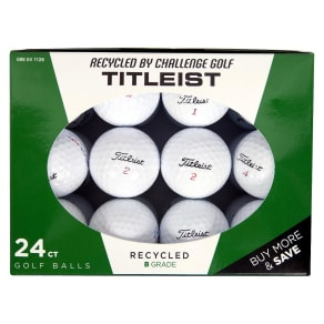 Titleist Recycled B Grade Golf Balls - 24pk