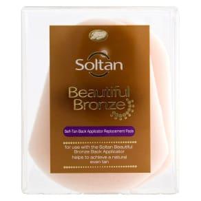Soltan Beautiful Bronze Self-Tan Back Applicator Replacement Pads 3s