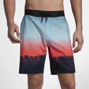 "Hurley Phantom Hyperweave Estuary Men's 18""(45.5cm Approx.) Boardshorts - Blue"