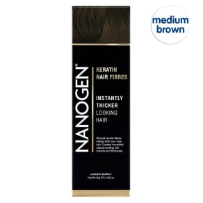 Nanogen Nanofibres Medium Brown 30g (2 Months' Supply)