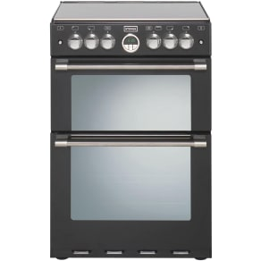 Stoves - Sterling - Black 600E Electric Cooker - Ins/Del/Rec