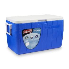 Coleman 48 Qt. Chest Cooler, Blue