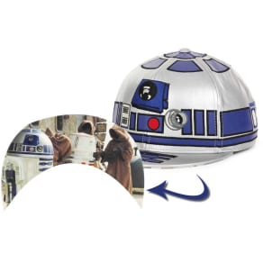 R2D2 Star Wars Star Wars Big Face Cap