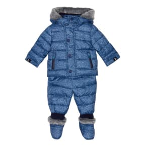 Baker by Ted Baker Baby Boys' Blue Three Piece Snowsuit