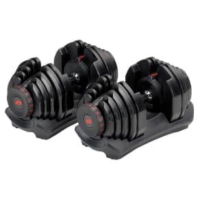 Bowflex 10-90 Lbs Dumbbells, Black