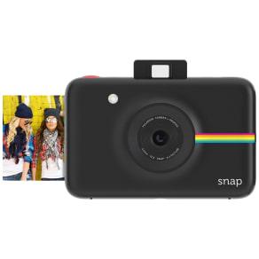 Polaroid - Snapinstant Print Digital Camera With 20 Shots - Black