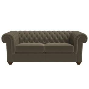 Debenhams 3 Seater Velvet 'Chesterfield' Sofa