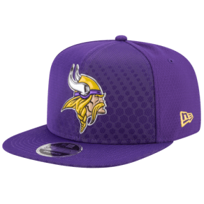 Minnesota Vikings New Era Nfl 9fifty Color Rush Snapback - Mens - Purple