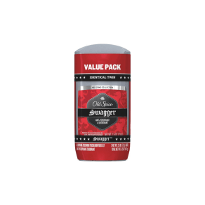 Old Spice Red Zone Invisible Solid Swagger Antiperspirant and Deodorant Twin Pack - 5.2oz