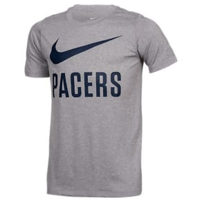Kids' Nike Indiana Pacers Nba Swoosh T-Shirt, Grey