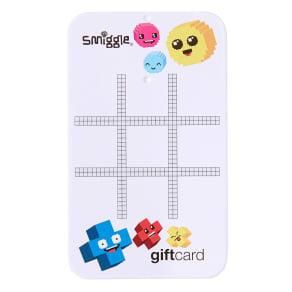 Tic Tac Toe Gift Card Case