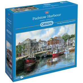 Gibsons Padstow Harbour Jigsaw Puzzle, 1000 Pieces