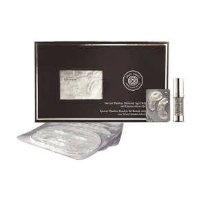 Forever Flawless Diamond Age-Defying Beauty Kit (Facial Masks, Eye Masks, Hydrating Serum)