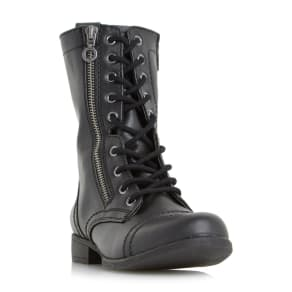 Rachey Lace Up Calf Boot