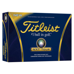 Titleist Nxt Tour Golf Balls - 12pk, White