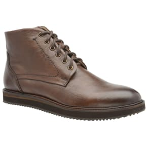 Frank Wright Brown 'Duane' Men's Lace Up Derby Boots