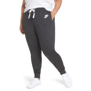 Plus Size Women's Nike Sportswear Gym Classic Pants, Size 1x - Black