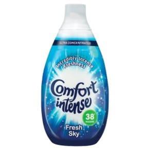 Comfort Intense Fresh Sky Fabric Conditioner, 38 Wash