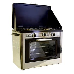 Camp Chef Outdoor Camp Oven, Silver