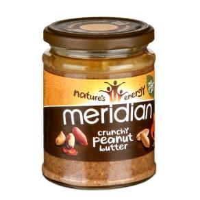 Meridian Natural Crunchy Peanut Butter 280g