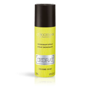 Cedrat Spray Deodorant 4.3 fl.oz l'Occitane