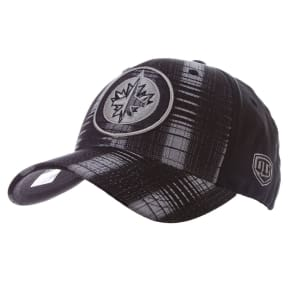 Winnipeg Jets Old Time Hockey Nhl Riggs Stretch Fitted Cap