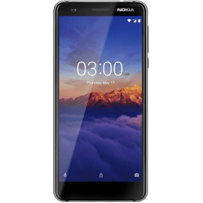 Nokia 3.1 (16gb Black) at Ps149.00 on No Contract.