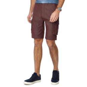Mantaray - Red Pindot Cargo Shorts