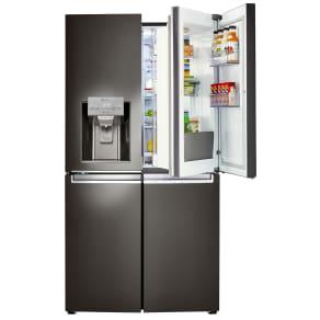 Lg Lnxs30866d 29.9 Cu. Ft. 4-Door Refrigerator W/Door-In-Doora(r) - Black Stainless