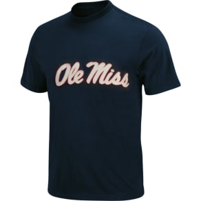 1dace71f43537 Ole Miss Rebels   039 47 Ncaa Fieldhouse Basic T-Shirt. Lids