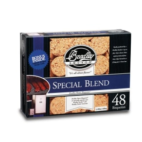 Bradley Technologies Bradley Special Blend Bisquettes 48 Pack, Black