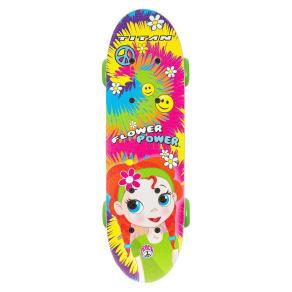 Titan 9263 Flower Power Princess Complete 17 Girls' Skateboard, Purple