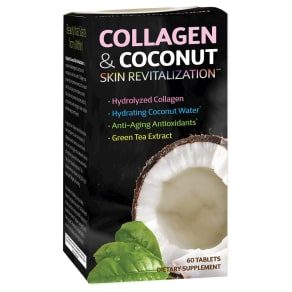 Applied Nutrition Collagen & Coconut Skin Revitalization Dietary Supplement - 60ct