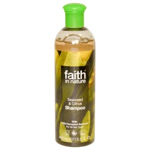 Faith in Nature Seaweed & Citrus Shampoo 400ml, Blue