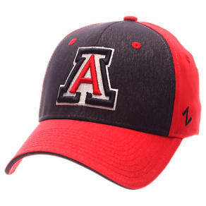 Zephyr Arizona Wildcats College Challenger Stretch Fit Hat, Red