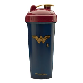 Justice League - Wonder Woman - 1 Shaker Cup - Perfectshaker - Mixers Shakers and Bottles