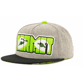 Muppets Grey With Print Under Snapback Cap