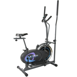 Body Rider Brd2800 Deluxe Dual Trainer, Gray