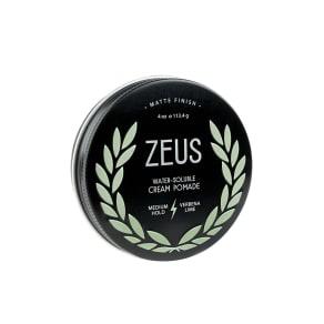 Zeus Matte Finish Cream Pomade (4 Oz)
