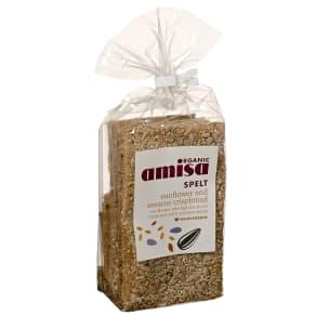 Amisa Organic Spelt Sunflower & Sesame Crispbread 200g