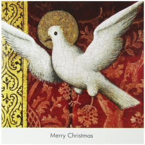 National Gallery Merry Christmas Cappenberg Dove Card