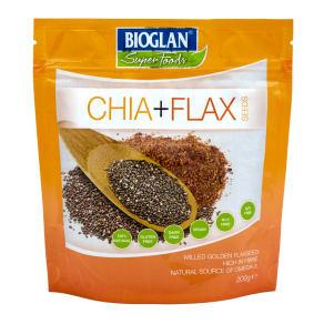 Bioglan Superfoods Chia & Flax Seeds 100g - 200g