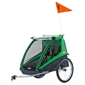 Thule Cadence Double Child Bicycle Trailer, Green