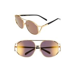 Women's Wildfox 'Dynasty Deluxe' 59mm Retro Sunglasses -