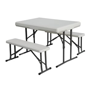 Outdoor Stansport Heavy Duty Picnic Table and Bench Seat