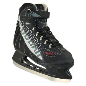 American Athletic Cougar Men's Soft Boot Hockey Skates - Black/Gray 9, Variation Parent