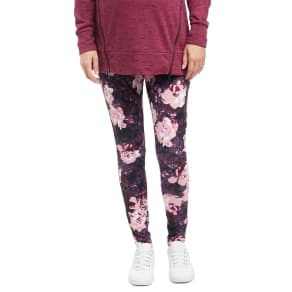 Secret Fit Belly Maternity Performance Leggings- Floral